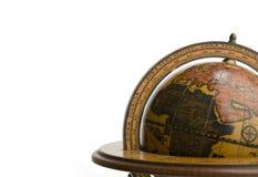 Globo antigo da terra Imagem de Stock