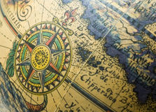 Globo antiquado Fotografia de Stock Royalty Free