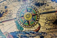 Globo antiquado Imagem de Stock Royalty Free