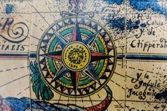 Globo antiquato Fotografia Stock