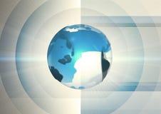 Globo astratto Fotografia Stock Libera da Diritti