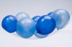 Globo azul imagen de archivo libre de regalías