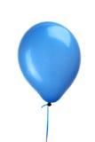 Globo azul con la cadena Foto de archivo libre de regalías