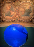 Globo blu Immagini Stock
