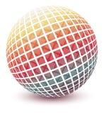 Globo colorido. ilustração royalty free