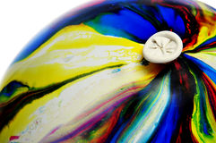 Globo colorido Fotos de archivo