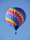 Globo colorido del aire caliente Fotografía de archivo libre de regalías