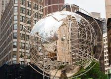Globo a Columbus Circle a Manhattan Fotografie Stock