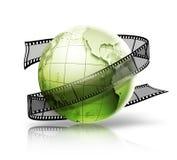 Globo con la tira de la película libre illustration