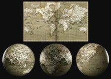 Globo 3D do mundo Imagem de Stock Royalty Free