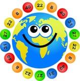 Globo da lotaria ilustração do vetor