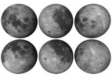 Globo da lua Fotografia de Stock