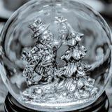 Globo da neve do boneco de neve ilustração royalty free