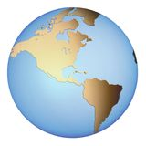 Globo da terra Fotos de Stock