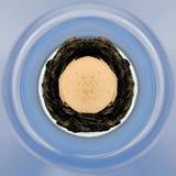 Globo da terra da praia Imagens de Stock Royalty Free