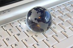 Globo de cristal Foto de archivo libre de regalías