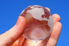 Globo de cristal Fotos de archivo libres de regalías