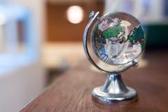 Globo de cristal de la tierra Foto de archivo libre de regalías