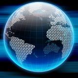 Globo de Digitaces ilustración del vector