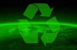 Globo de Greenpeace y del mundo ilustración del vector