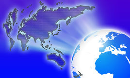 Mundo do globo Fotos de Stock
