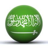 Globo de la Arabia Saudita Imagen de archivo libre de regalías