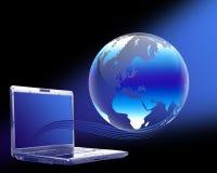 Globo de la computadora portátil