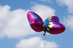 Globo de la mariposa Foto de archivo libre de regalías