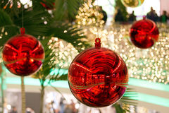 Globo de la Navidad Fotos de archivo