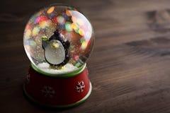 Globo de la nieve Imágenes de archivo libres de regalías