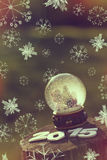Globo de la nieve Fotografía de archivo libre de regalías