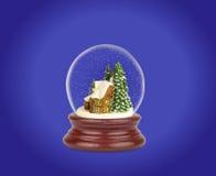 Globo de la nieve de la Navidad Foto de archivo