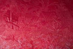 Globo de la nieve de la Navidad con los copos de nieve Imagenes de archivo