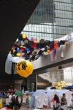 Globo de la protesta Foto de archivo