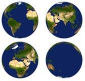 Globo de la tierra Foto de archivo libre de regalías