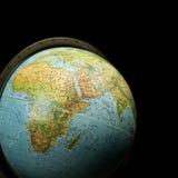 Globo de la tierra Fotos de archivo libres de regalías