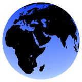 Globo de la tierra Imagenes de archivo