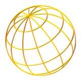 Globo de la tierra del planeta Imagenes de archivo