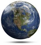 Globo de la tierra - Norteamérica libre illustration