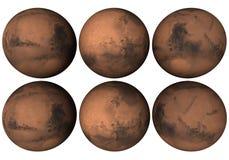 Globo de Marte Fotografia de Stock Royalty Free