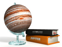 Globo de Marte 3D Imagen de archivo