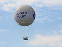 Globo de observación Kraków Foto de archivo