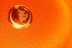 Globo de oro fotos de archivo libres de regalías