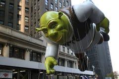 Globo de Shrek. foto de archivo