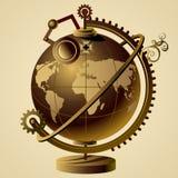 Globo de Steampunk Imágenes de archivo libres de regalías