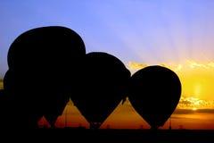 Globo del aire caliente fotos de archivo libres de regalías