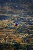 Globo del aire caliente fotografía de archivo