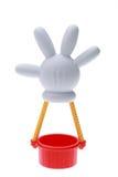Globo del aire caliente de Mickey Mouse Imágenes de archivo libres de regalías