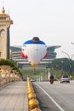 Globo del aire caliente en Putrajaya, Malasia Foto de archivo
