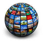 Globo del cuadro Fotos de archivo libres de regalías